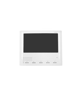 Monitor branco mãos livres de videoporteiro sistema 2 fios - MVC-130