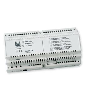 Alimentador DC para sistema digital com teclado - ALC-070