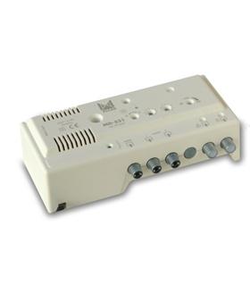 Modulador todabanda norma BG estéreo, 95db saida - MD-531