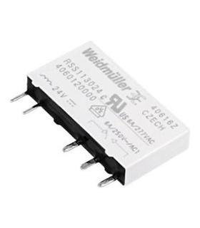 RSS113024 - Rele 24Vdc 6 Amp 1 Inversor - RSS113024