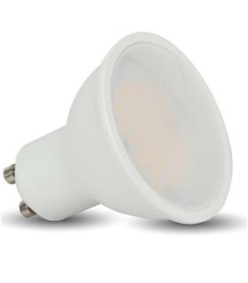 Lâmpada GU10 LED 6W 3000K Branco Quente 410lm - GU106WWW