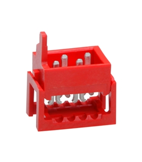 Wire-To-Board Connector, 1.27 mm, 4 Contacts, Plug, 2 Rows - 72150834
