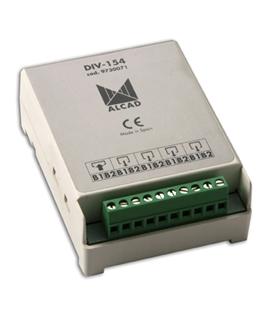 Distribuidor para sistema 2 fios, 4 saidas - DIV-154
