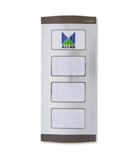 Placa de rua com directorio para identificação de código - PTN-00000
