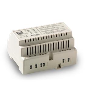 Alimentador 12V~; 15V- 25 VA, videoporteiro electrónico - ALM-040