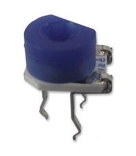 Trimmer Potentiometer, 1 kohm, 1 Turns, Through Hole, 200 mW - 3306P1102