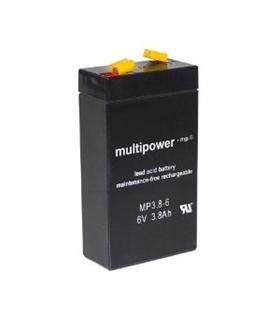 Bateria Gel Chumbo 6V 3.2A - 63