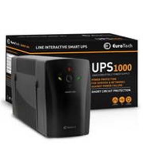 UPS1000EU - SMART UPS 1000VA / 600W 1USB 2RJ45 2SCHUKO - UPS1000VA