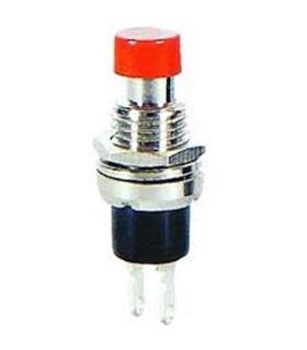 Pulsador 1 Circuito OFF/(ON) Vermelho - MX51910B2VM