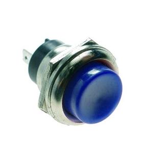 Pulsador 1 Circuito OFF/(ON) Azul - MX51932
