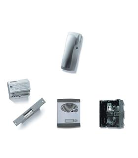 Kit de 1 pulsador simples, com sistema de chamada 4+N - KAS-41001