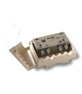 Amplificador de mastro, grupo de canais, 3 entradas, U-U-V - AM-309