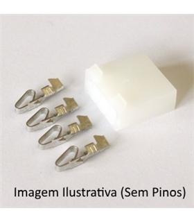 Ficha Pin Socket GR.3Pinos - 69PSG3