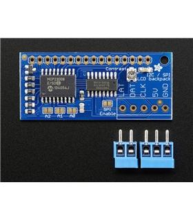 ADA292 - I2C/SPI Character LCD Backpack - ADA292
