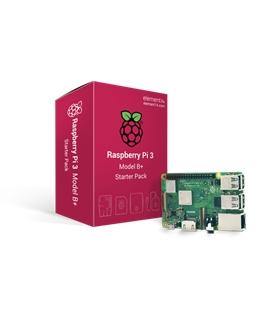 Kit Oficial Raspberry Pi 3 B+ com 16Gb, Alimentador 2.5A - RPI3MODBPSTARTER