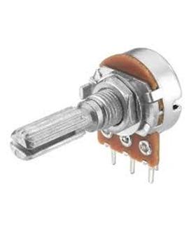 Potenciometro Rotativo C/Veio 5K Metalico - 16205KM