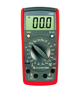 UT603 - Capacimetro Medidor De Indutancia Digital - UT603
