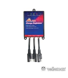 SOL7UC - Controlador de Carga Solar 7Amp - SOL7UC