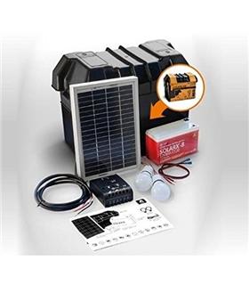 Kit iluminacao LED Solar com Bateria 5W Xunzel - SOLARLIFE5I