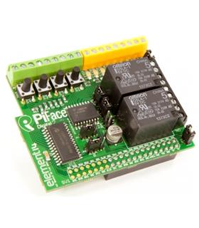 PIFACE DIGITAL 2 - I/O EXPANSION BOARD FOR RASPBERRY PI B+ - PIFACEDIGITAL2