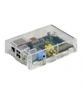 Raspberry Pi Model B Com Caixa  Transparente - RASPBERRYBC