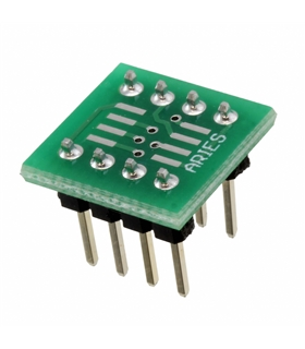 LCQT-SOIC8-8 - IC ADAPTER, 8-SOIC TO DIP, 2.54MM - LCQT-SOIC8-8