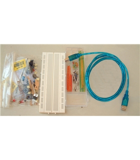 A000028 - Kit Workshop Base Level sem Arduino - A000028