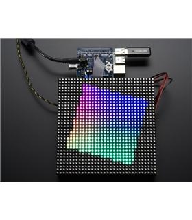 ADA2345 - Adafruit RGB Matrix HAT + RTC for Raspberry Pi - ADA2345