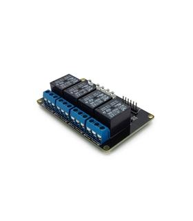 MX120525002 - Modulo de 4 Reles 5V - MX120525002