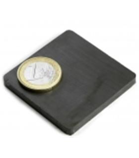 Íman Ferrite quadrado Y35 50x50x5mm - MX0965936