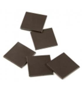 Conjunto de 40 ímans adesivos quadrados 20x20x1mm - MX0965941
