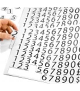 Conjunto de Números e símbolos magnéticos 20x25mm - 240 peçs - MX0965945