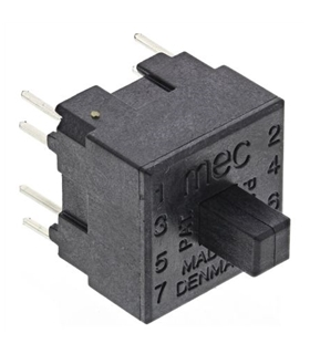 15451 - Microswitch TACT DPST-NO+DPST-NC 0.025A 120VDC - MX15451