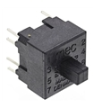 15451 - Microswitch TACT DPST-NO+DPST-NC 0.025A 120VDC