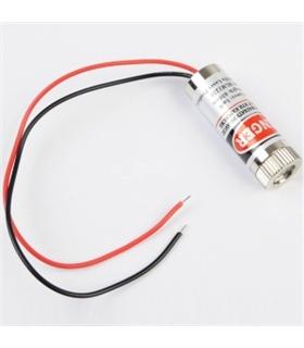 Modulo Laser Vermelho 650nm 5mW, 3 a 5V - HLM1230