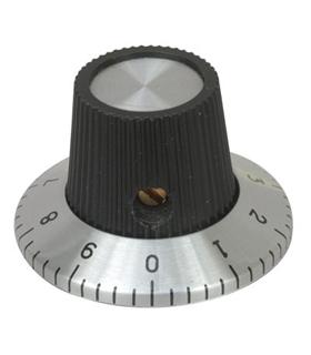 MXRN113A - Botao Potenciometro 0-9 15x18.1mm - MXRN113A