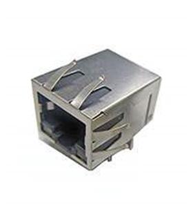 ARJ-205 - Ficha Rede RJ45 8p Circuito Impresso C/LED - MXARJ205