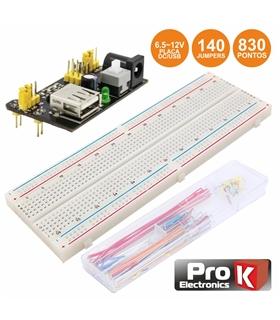 PKBB830J140DC - Placa De Ensaio Multifunçoes Com 830 Pontos - PKBB830J140DC