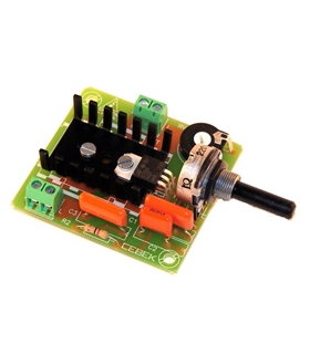 R-10 - Regulador Velocidade p/motores - R10