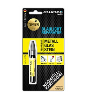 Recarga De Cola Blufixx PW Light Brown - PWREFILLLB