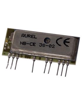 Aurel NB-CE - 434 MHz, -100dBm, 5V, 3.5mA, OOK, AM - NBCE
