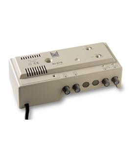 Amplificador interior 1 ent, 2 sal, TV - AI-210
