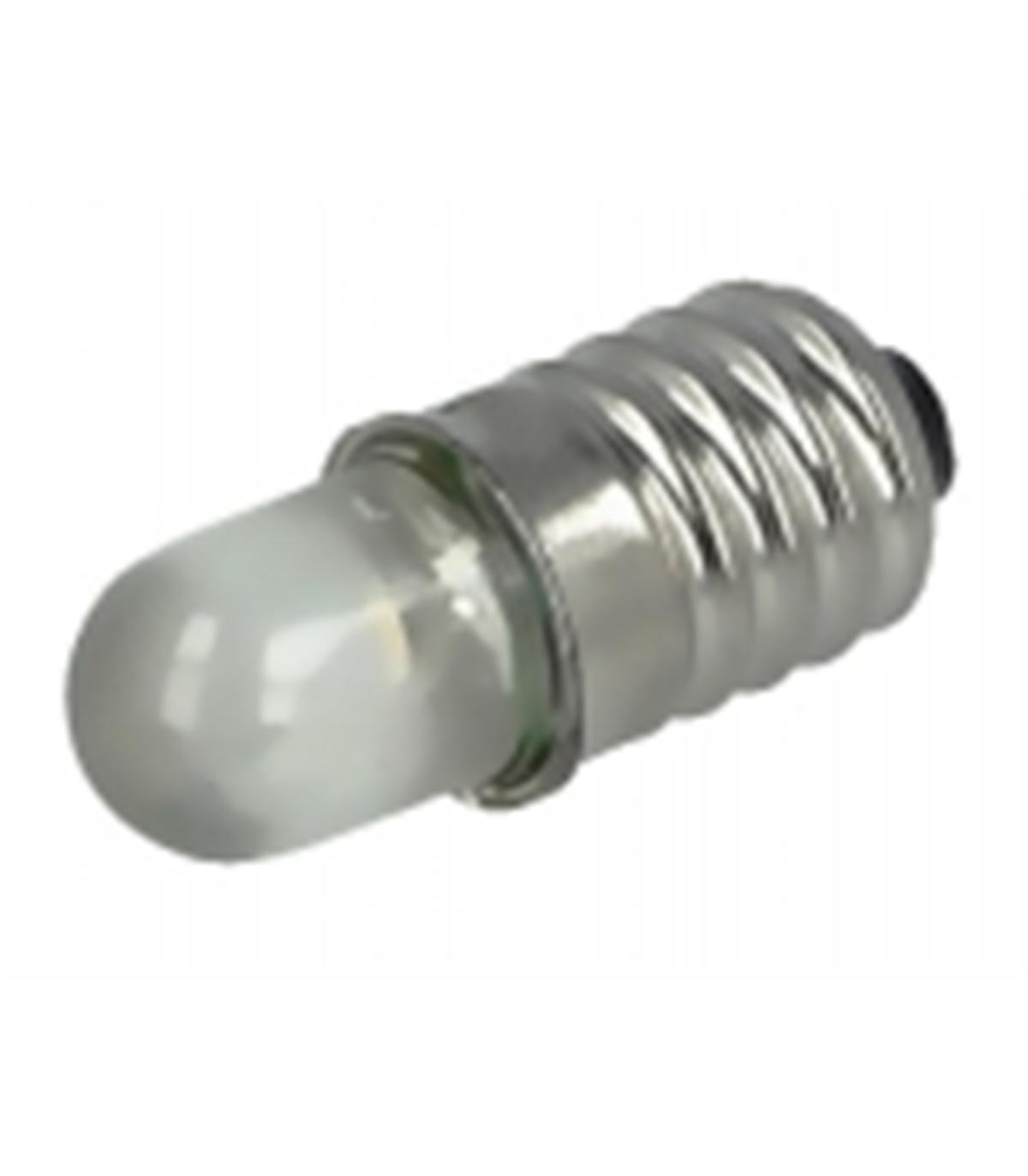 lâmpada miniatura led e10 6000k (branco frio) - 3-12v