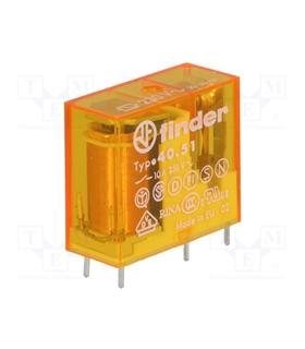 Rele Finder 12VAC 10A 1Inv. - F40511210A