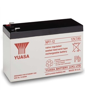 HR1234W - Bateria CSB 12V 9Ah 34W F2 High Rate - HR1234W