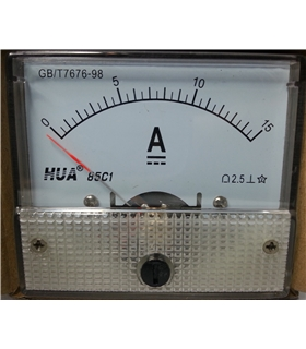 Amperimetro 15A - A15A