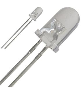 Led 5mm Branco Frio 5800-7000mcd 30° 3÷5V Efeito Pisca - OS5WDK5A31A