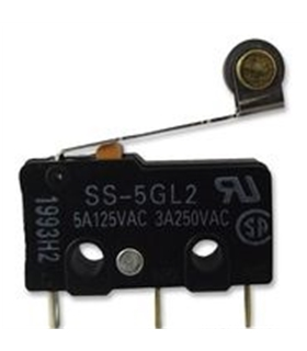 SS5GL2 - Microswitch SPDT Omron 5A - SS5GL2