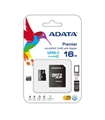 Cartão micro SDHC CARD 16Gb ADATA CLASS10 - SD16GBA