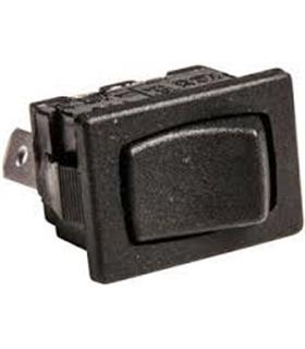 Interruptor basculante 2 posições estáveis - ON-OFF - Preto - 914B